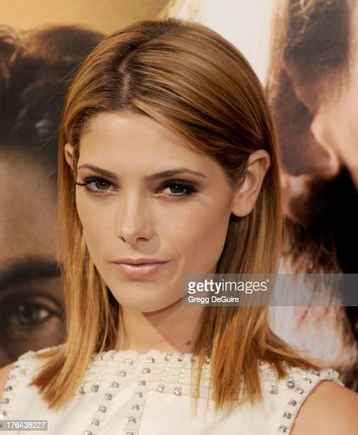 """Actress Ashley Greene arrives at the Los Angeles premiere of """"The Mortal Instruments: City Of Bones"""" at ArcLight Cinemas Cinerama Dome on August 12,..."""