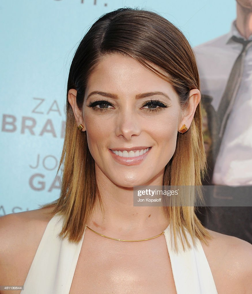 Actress Ashley Greene arrives at the Los Angeles Premiere 'Wish I Was Here' at the DGA on June 23, 2014 in Hollywood, California.