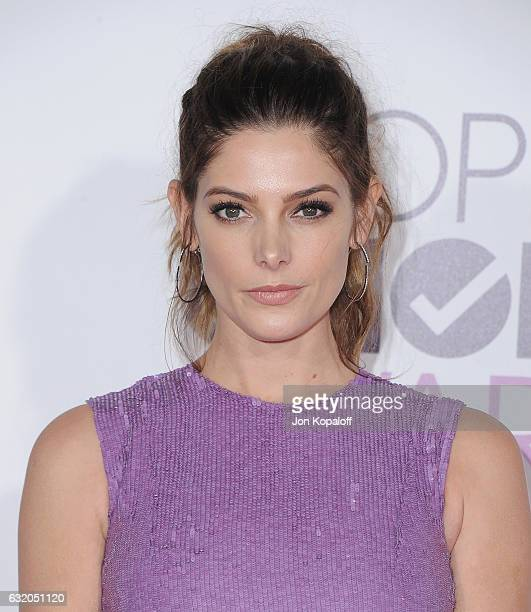 Actress Ashley Greene arrives at the People's Choice Awards 2017 at Microsoft Theater on January 18 2017 in Los Angeles California