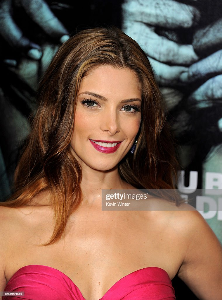 Actress Ashley Greene arrives at the premiere of Warner Bros. Pictures 'The Apparition' at the Chinese Theatre on August 23, 2012 in Los Angeles, California.
