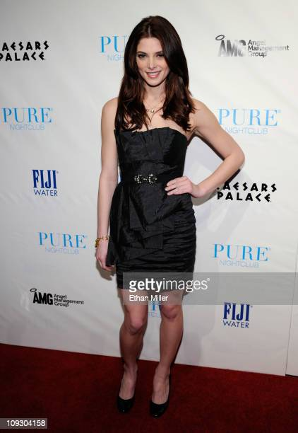 Actress Ashley Greene arrives at the Pure Nightclub at Caesars Palace to celebrate her birthday early February 20 2011 in Las Vegas Nevada Greene...