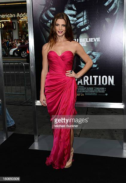 Actress Ashley Greene arrives to the premiere of Warner Bros Pictures' The Apparition at Grauman's Chinese Theatre on August 23 2012 in Hollywood...