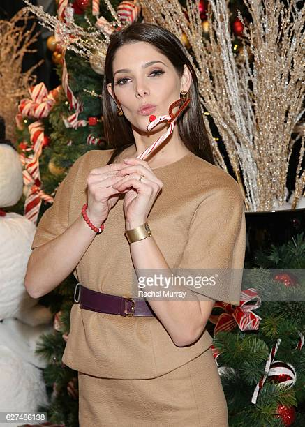 Actress Ashley Greene attends Brooks Brothers holiday celebration with St Jude Children's Research Hospital on December 3 2016 in Beverly Hills...