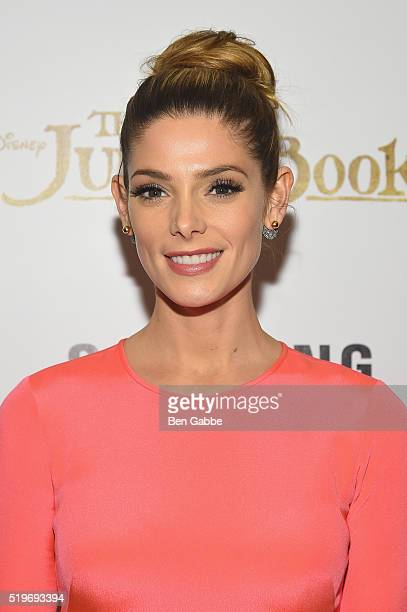 Actress Ashley Greene attends Disney with The Cinema Society Samsung host a screening of 'The Jungle Book' at AMC Empire 25 theater on April 7 2016...