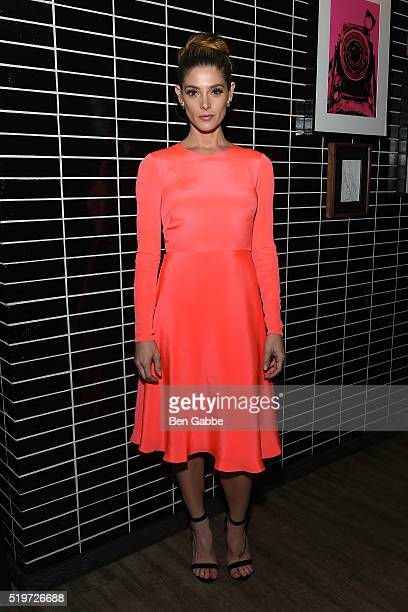 Actress Ashley Greene attends Disney With The Cinema Society Samsung host a screening of The Jungle Book after party at The Skylark on April 7 2016...