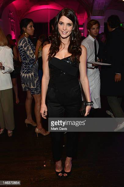 Actress Ashley Greene attends the 14th Annual Young Hollywood Awards after party presented by Bing at Hollywood Athletic Club on June 14, 2012 in...