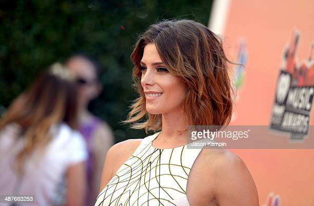 Actress Ashley Greene attends the 2014 iHeartRadio Music Awards held at The Shrine Auditorium on May 1, 2014 in Los Angeles, California. IHeartRadio...