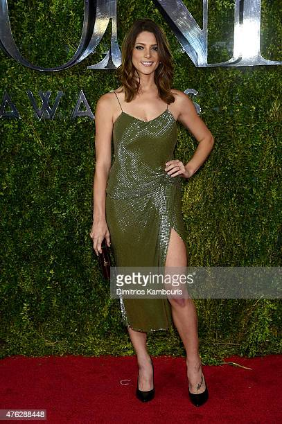 Actress Ashley Greene attends the 2015 Tony Awards at Radio City Music Hall on June 7 2015 in New York City