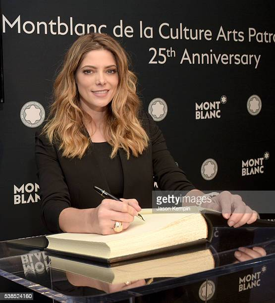 Actress Ashley Greene attends the 25th annual Montblanc de la Culture Arts Patronage Award at Chateau Marmont on June 6 2016 in Los Angeles California