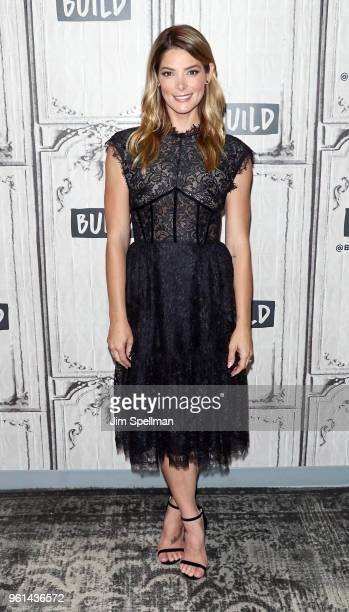 Actress Ashley Greene attends the Build Series to discuss Click My Closet at Build Studio on May 22 2018 in New York City