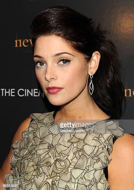 Actress Ashley Greene attends THE CINEMA SOCIETY and DG screening of THE TWILIGHT SAGA NEW MOON at Landmark's Sunshine Cinema on November 19 2009 in...