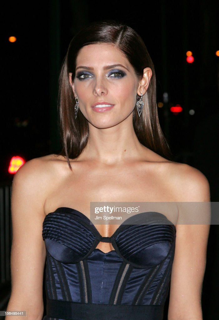 Actress Ashley Greene attends The Cinema Society with The Hollywood Reporter & Samsung Galaxy screening of 'The Twilight Saga: Breaking Dawn Part 2' on November 15, 2012 at the Landmark Sunshine Cinema in New York City.