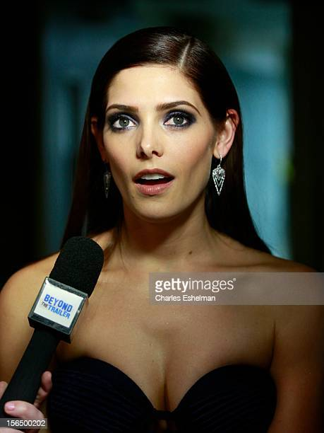 """Actress Ashley Greene attends the Cinema Society with The Hollywood Reporter and Samsung Galaxy screening of """"The Twilight Saga: Breaking Dawn Part..."""