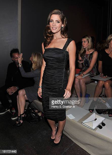 Actress Ashley Greene attends the Donna Karan New York show during Spring 2013 MercedesBenz Fashion Week on September 10 2012 in New York City