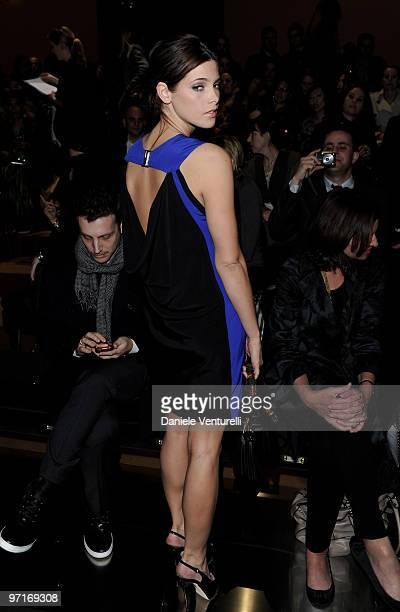 Actress Ashley Greene attends the Gucci Milan Fashion Week Autumn/Winter 2010 show on February 27 2010 in Milan Italy