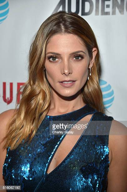 "Actress Ashley Greene attends the party celebrating AT&T's ""ROGUE"" at the London Hotel on March 16, 2016 in Los Angeles, California."