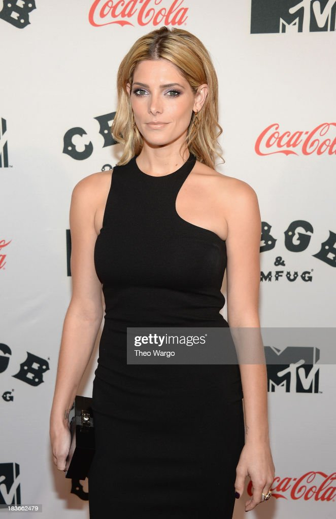 Actress Ashley Greene attends the Premiere of 'CBGB: The Movie' during the CBGB Music & Film Festival 2013 at Landmark Sunshine Cinema on October 8, 2013 in New York City.