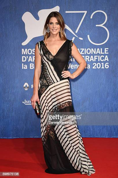 Actress Ashley Greene attends the premiere of 'In Dubious Battle' during the 73rd Venice Film Festival at Sala Giardino on September 3 2016 in Venice...