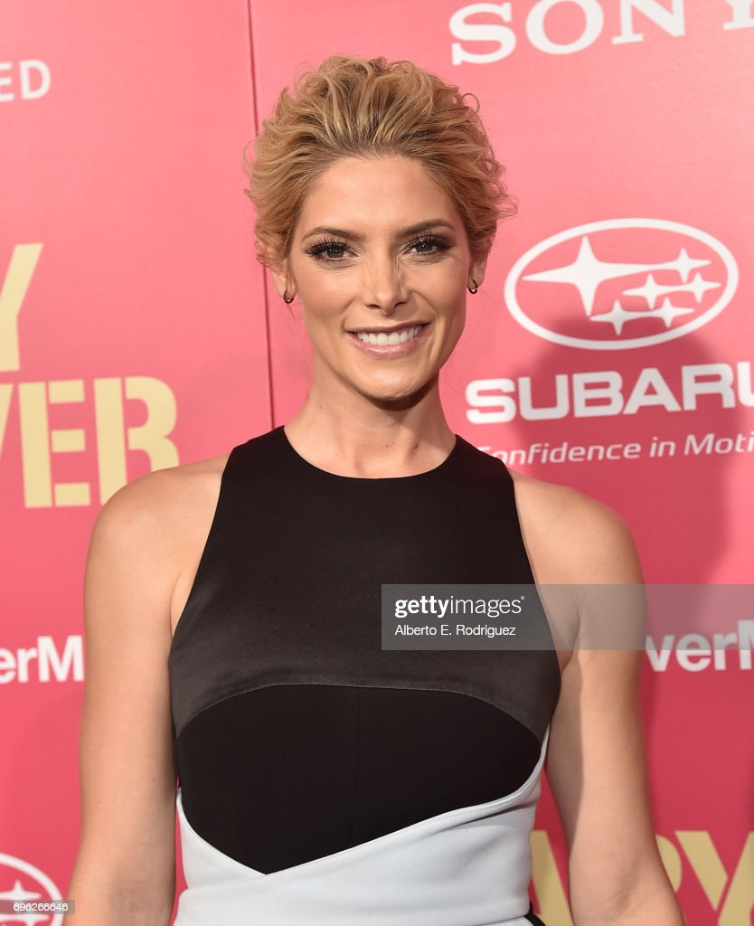 Actress Ashley Greene attends the premiere of Sony Pictures' 'Baby Driver' at Ace Hotel on June 14, 2017 in Los Angeles, California.