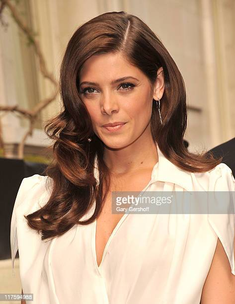 Actress Ashley Greene attends the Salvatore Ferragamo Women's Resort 2012 Collection at the James B. Duke Mansion on June 28, 2011 in New York City.