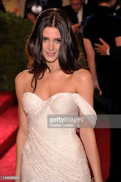 "Actress Ashley Greene attends the ""Schiaparelli And Prada: Impossible Conversations"" Costume Institute Gala at the Metropolitan Museum of Art on May..."
