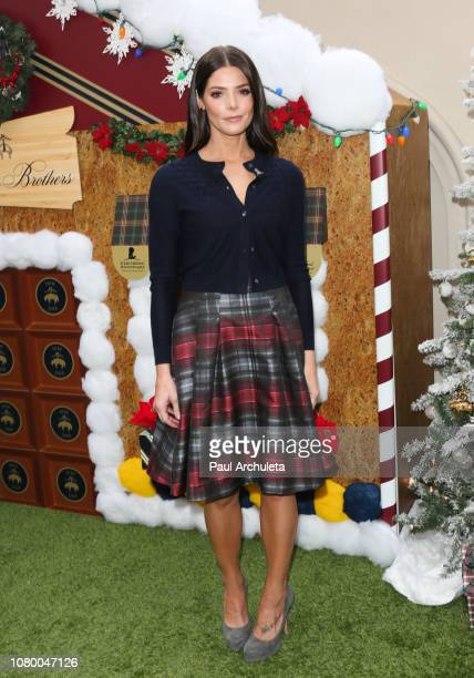 Actress Ashley Greene attends the the Brooks Brothers annual holiday celebration in Los Angeles to Benefit St Jude at the Beverly Wilshire Four...