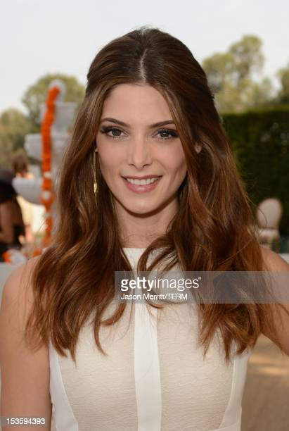 Actress Ashley Greene attends the Third Annual Veuve Clicquot Polo Classic at Will Rogers State Historic Park on October 6 2012 in Pacific Palisades...