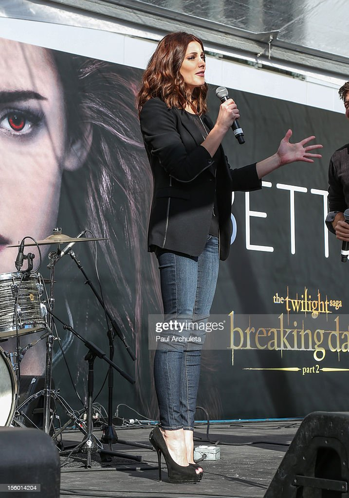 Actress Ashley Greene attends the Twilight Fan Camp Concert at L.A. LIVE on November 10, 2012 in Los Angeles, California.