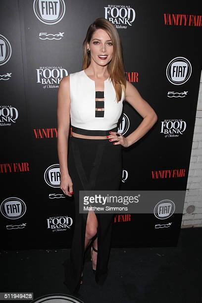 Actress Ashley Greene attends Vanity Fair and FIAT Young Hollywood Celebration at Chateau Marmont on February 23 2016 in Los Angeles California
