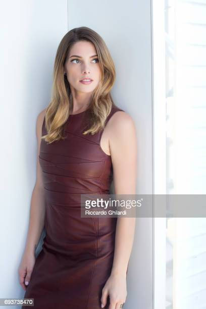 Actress Ashley Greene is photographed for Self Assignment on May 24 2017 in Cannes France