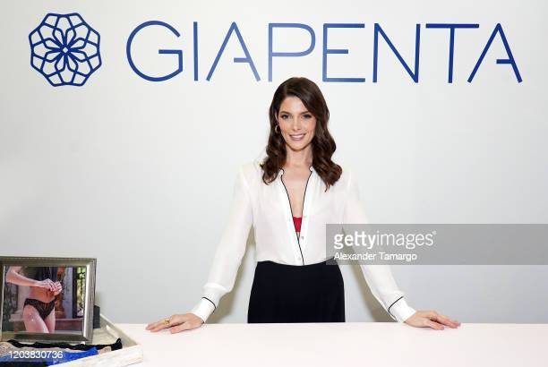 Actress Ashley Greene is seen at the GIAPENTA Wynwood Pop-Up Shop on February 27, 2020 in Miami, Florida.