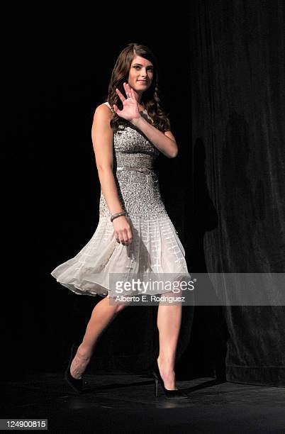 Actress Ashley Greene walks onstage at Butter Premiere at Roy Thomson Hall during the 2011 Toronto International Film Festival on September 13 2011...