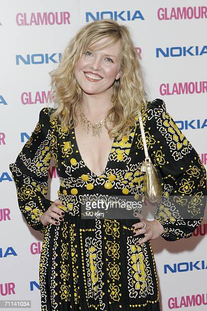 Actress Ashley Jensen arrives at the Glamour Women Of The Year Awards, the annual awards recognising the achievement of women with categories...