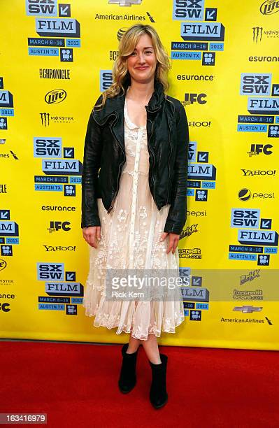 """Actress Ashley Johnson arrives at the screening of """"Much Ado About Nothing"""" during the 2013 SXSW Music, Film + Interactive Festival at Austin..."""