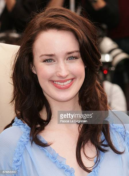 Actress Ashley Johnson attends a photocall promoting the film 'Fast Food Nation' at the Palais during the 59th International Cannes Film Festival May...