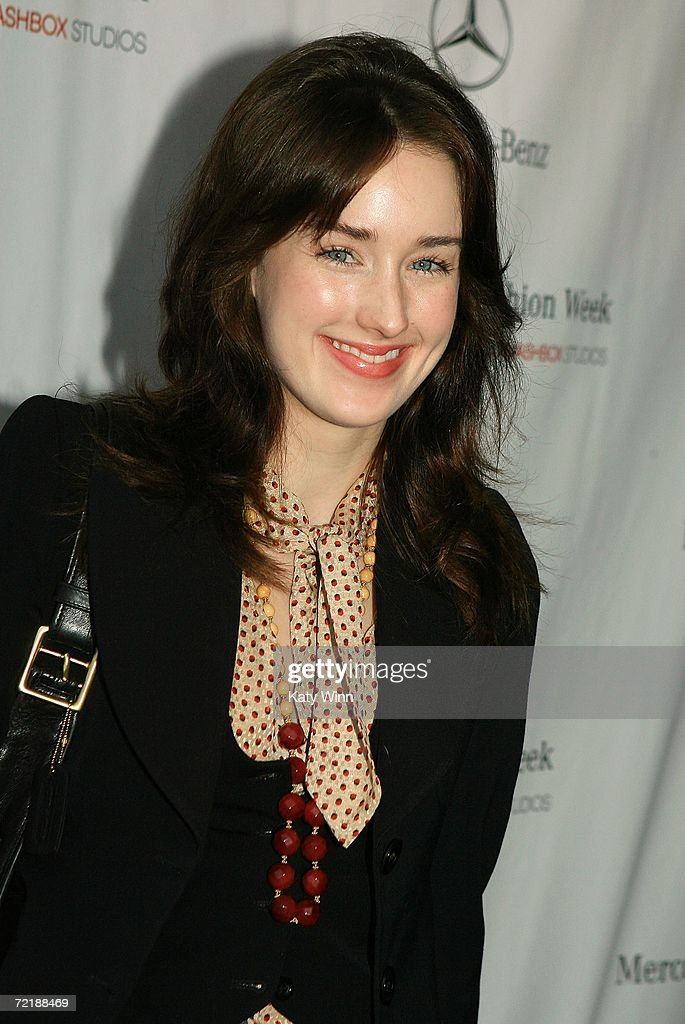 Actress Ashley Johnson Attends Mercedes Benz Fashion Week At Smashbox News Photo Getty Images