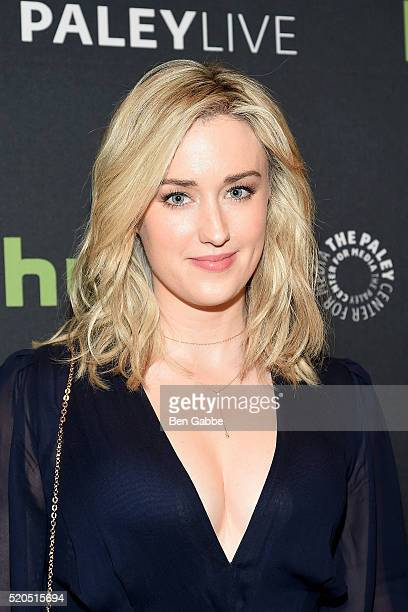 Actress Ashley Johnson attends PaleyLive NY An Evening With The Cast Creator Of Blindspot at The Paley Center for Media on April 11 2016 in New York...