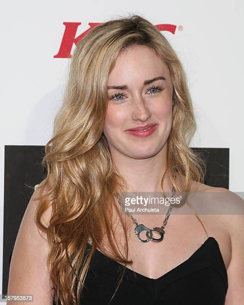 Actress Ashley Johnson attends Spike TV's 10th Annual Video Game Awards at Sony Pictures Studios on December 7 2012 in Culver City California