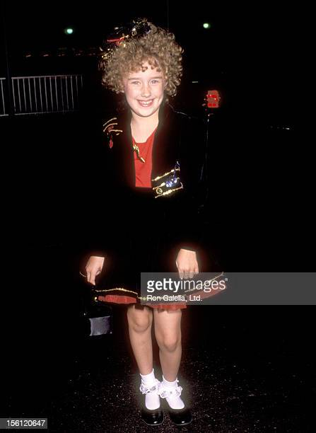 Actress Ashley Johnson attends the ABC Fall Season KickOff Party on September 11 1991 at Century Plaza Hotel in Los Angeles California
