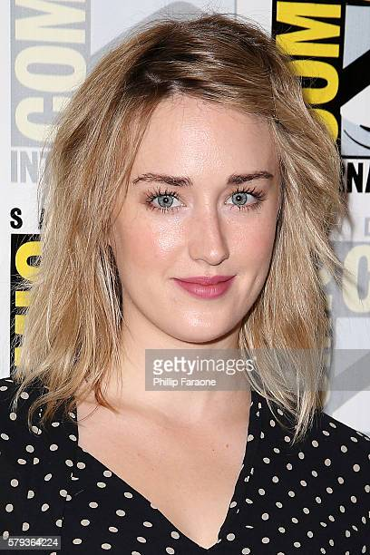 Actress Ashley Johnson attends the 'Blindspot' press line during ComicCon International 2016 on July 23 2016 in San Diego California