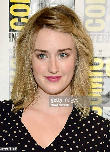 Actress Ashley Johnson attends the Blindspot press line during ComicCon International on July 23 2016 in San Diego California