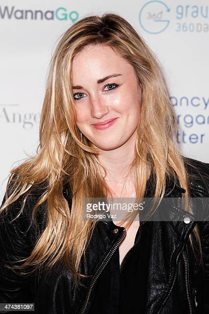 Actress Ashley Johnson attends the Huntington's Disease Society of America 2014 Freeze HD Benefit at Mack Sennett Studios on February 22 2014 in Los...