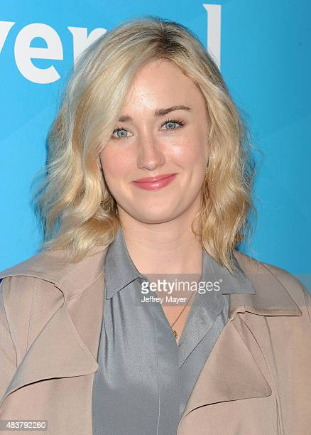 Actress Ashley Johnson attends the NBCUniversal press tour 2015 at the Beverly Hilton Hotel on August 12 2015 in Beverly Hills California