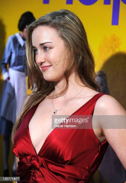 Actress Ashley Johnson attends the premiere Of DreamWorks Pictures' 'The Help' held at The Academy of Motion Picture Arts and Sciences, Samuel...