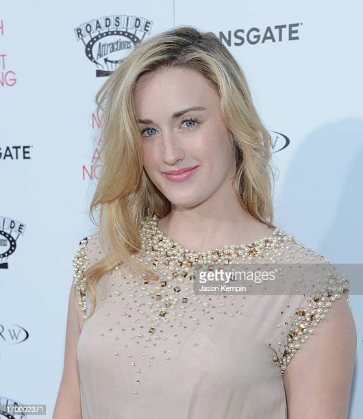 Actress Ashley Johnson attends the screening of Lionsgate and Roadside Attractions' Much Ado About Nothing on June 5 2013 in Hollywood California