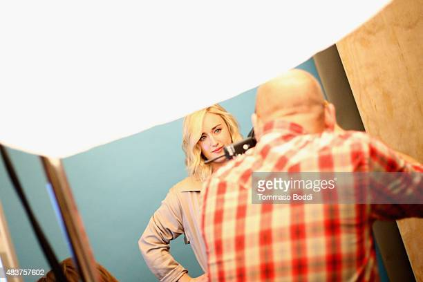 Actress Ashley Johnson of NBC's 'Blindspot' attends Behind The Scenes Of The Getty Images Portrait Studio Powered By Samsung Galaxy At 2015 Summer...