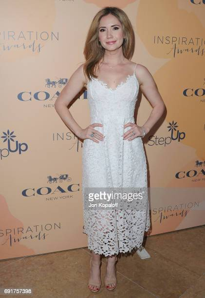 Actress Ashley Jones arrives at the 14th Annual Inspiration Awards at The Beverly Hilton Hotel on June 2 2017 in Beverly Hills California