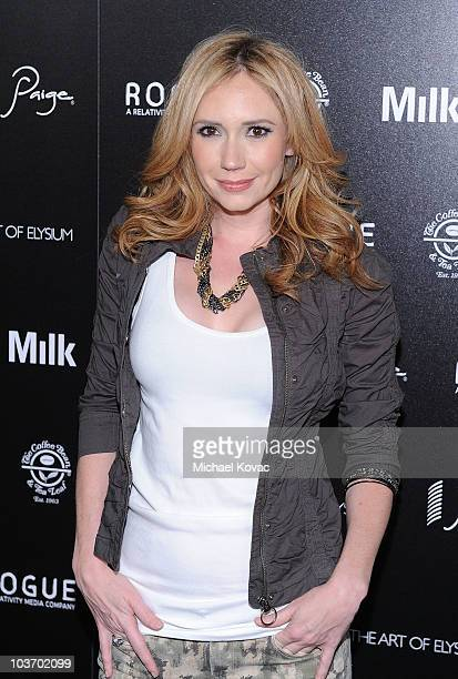 Actress Ashley Jones arrives at The Art of Elysium's 2nd Annual Genesis Awards at Milk Studios on August 28, 2010 in Hollywood, California.