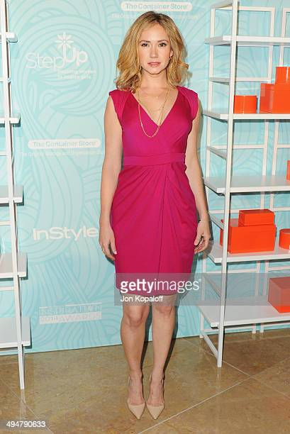 Actress Ashley Jones arrives at the Step Up 11th Annual Inspiration Awards at The Beverly Hilton Hotel on May 30 2014 in Beverly Hills California