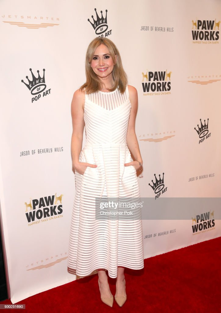 Actress Ashley Jones attends the James Paw 007 Ties & Tails Gala at the Four Seasons Westlake Village on March 10, 2018 in Westlake Village, California.